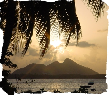 Carriacou - Sunset From Seaclusion Suites