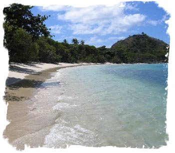 Carriacou - Our Beach Facing Left