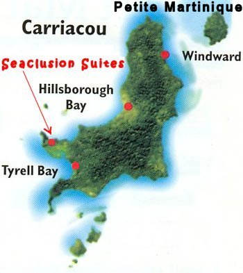 Carriacou Map